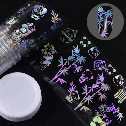 Holographic Foil Nail Art Decals JQ300