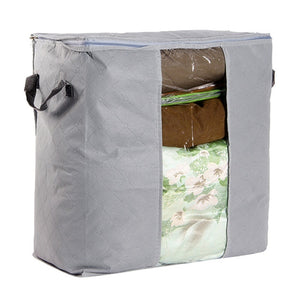 Bamboo Charcoal Clothes Storage Bag Grey