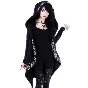 Gothic Black Hoodies
