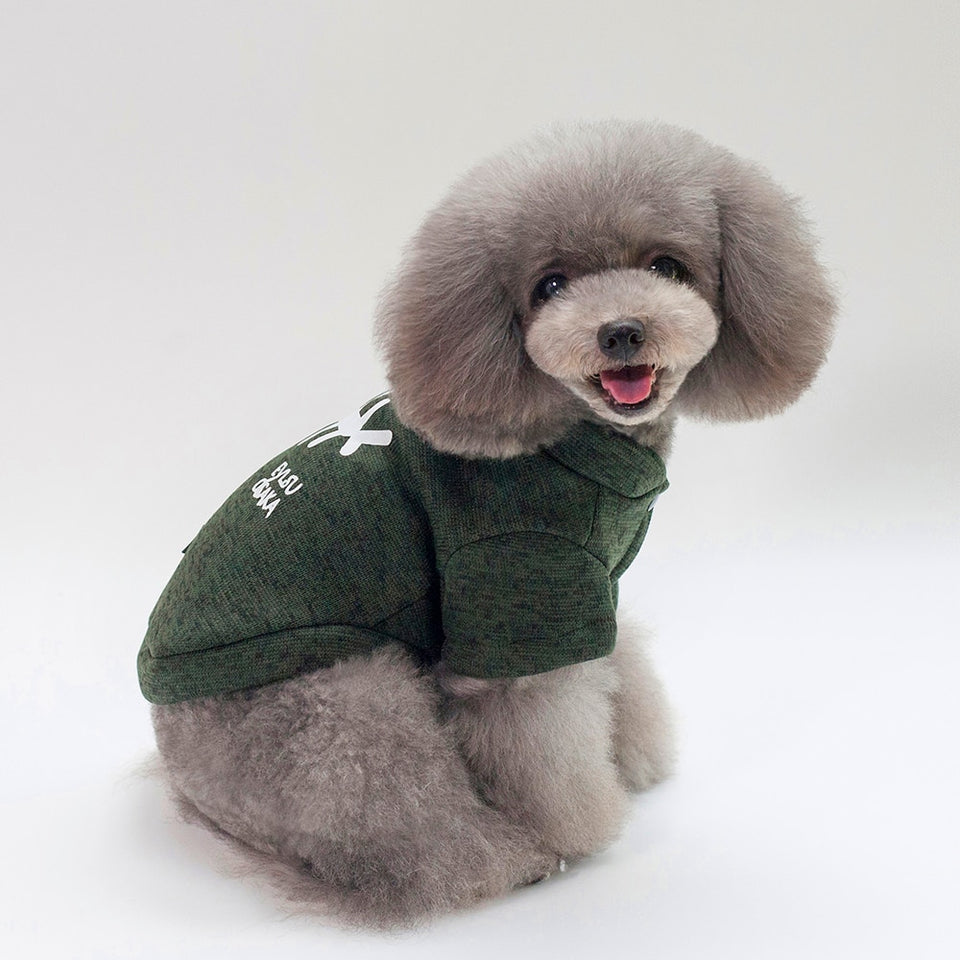 Thickening dog winter coat