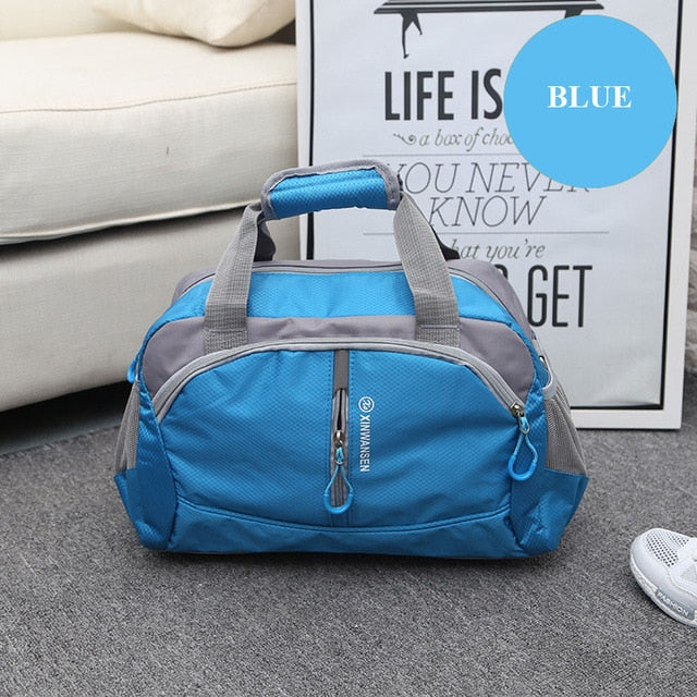 Waterproof Sports Training Bag Blue