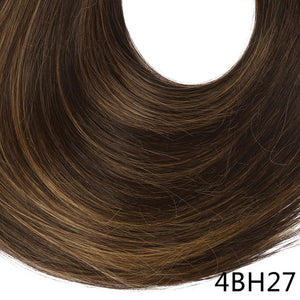Synthetic ponytail hair extensions 4BH27 / 24inches