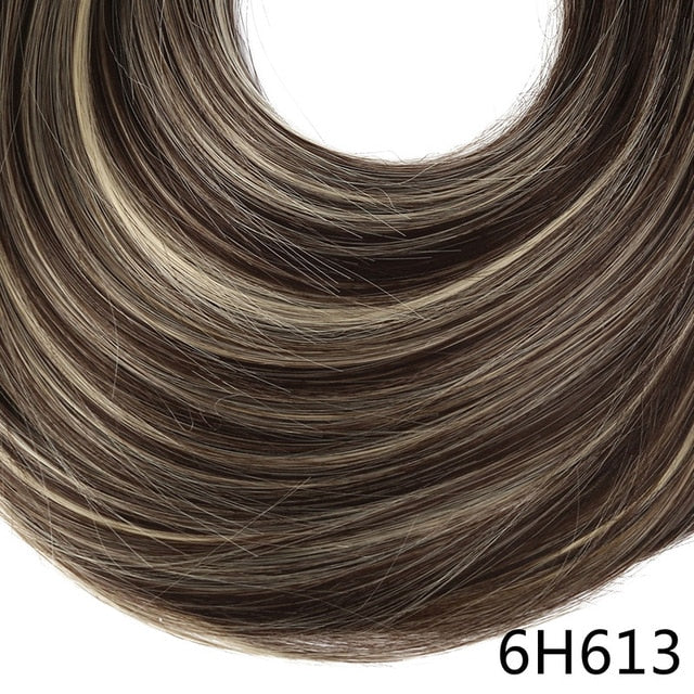 Synthetic ponytail hair extensions 6H613 / 24inches