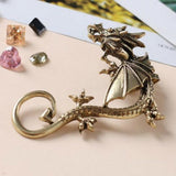 Metal Dragon Ear Cuff