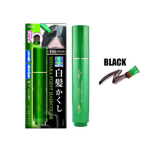 Natural Herb White Hair Cover Pen Black