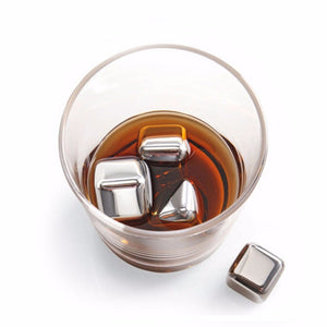 Stainless Steel Cocktail Cubes