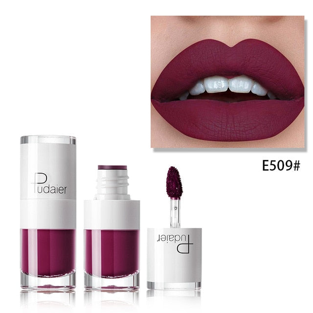 Liquid Matte Waterproof lipstick E509