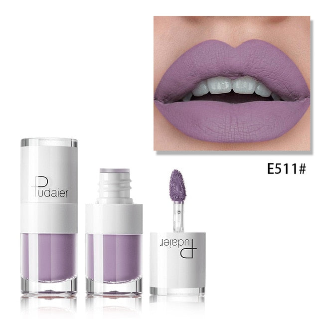 Liquid Matte Waterproof lipstick E511