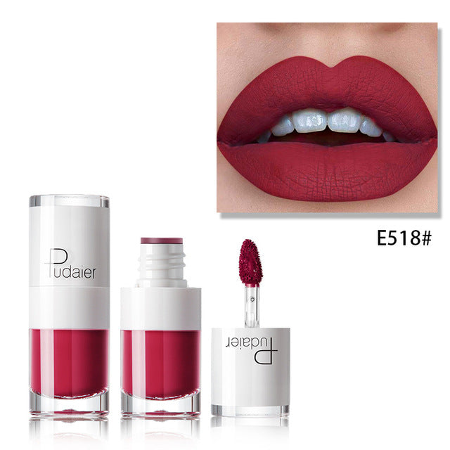 Liquid Matte Waterproof lipstick E518