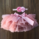 Baby girl lace bloomers diaper cover tutu