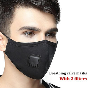 Military Grade Reusable Filter Mask Mens black