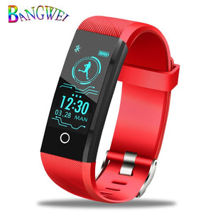 Smart Watch Men Fitness Tracker red / China