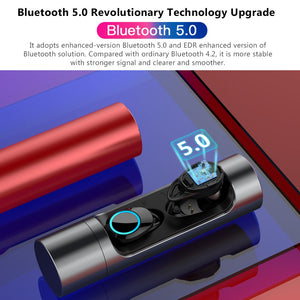 Ultralight Waterproof Wireless Bluetooth Sport Earphones
