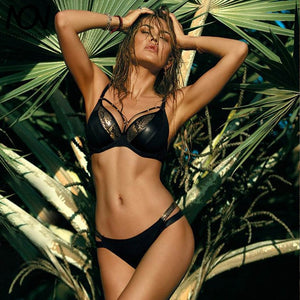 Sexy snake skin push up bikini set 5 / L