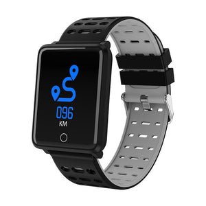 Waterproof smart sports watch Gray