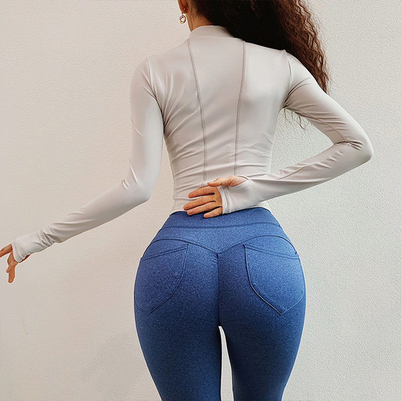 Long Sleeve Workout Track Jacket