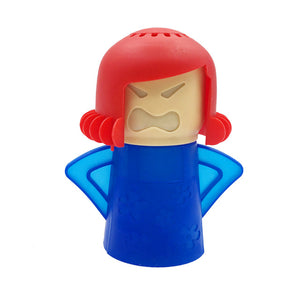 Angry Mama Microwave Cleaner Angry Mama Blue