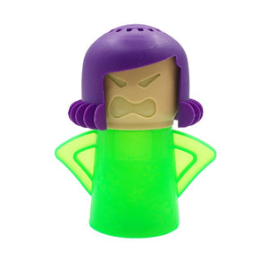 Angry Mama Microwave Cleaner Angry Mama Green