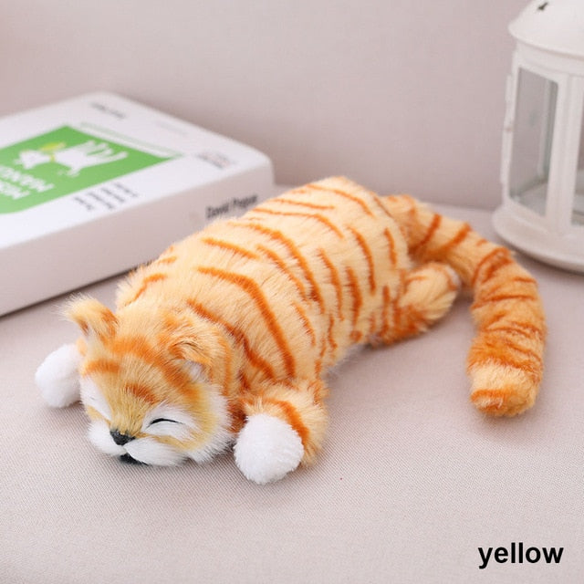 Funny Rolling Cat Yellow
