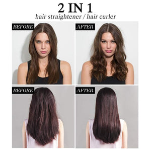 MADAMI 2 In 1 Curling And Straightening Iron