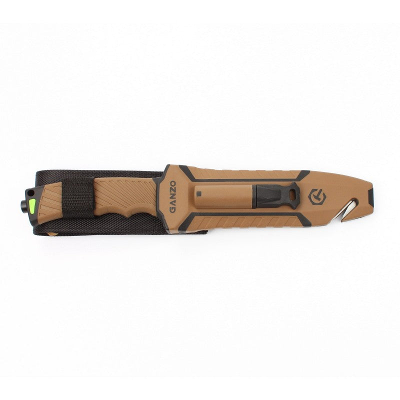 Firebird ganzo camping survival knife