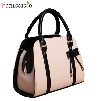 Casual leather Female handbag