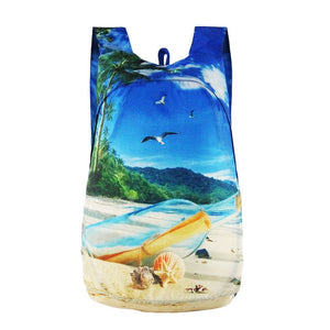 Mini Waterproof Foldable Backpack Beach / 20L