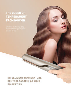 2 IN 1-SILKY HAIR Professional Hair Straightener