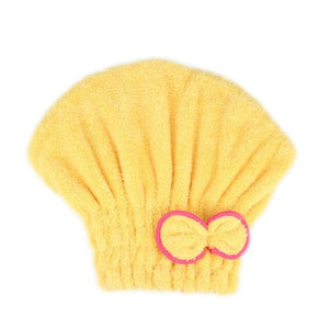 Microfibre Quick Hair Drying Wrap Towel Hat 06