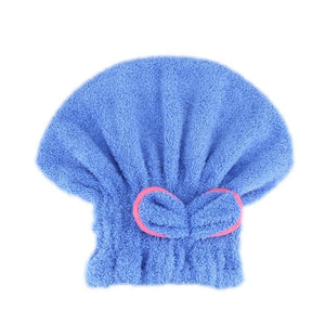 Microfibre Quick Hair Drying Wrap Towel Hat 01