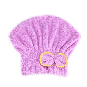 Microfibre Quick Hair Drying Wrap Towel Hat 03