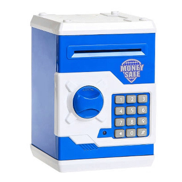 Digital Piggy Bank - Safe Deposit Box for Kids A1