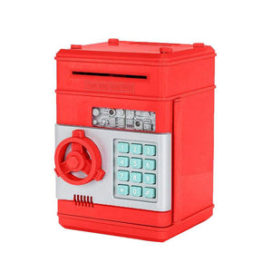 Digital Piggy Bank - Safe Deposit Box for Kids B6