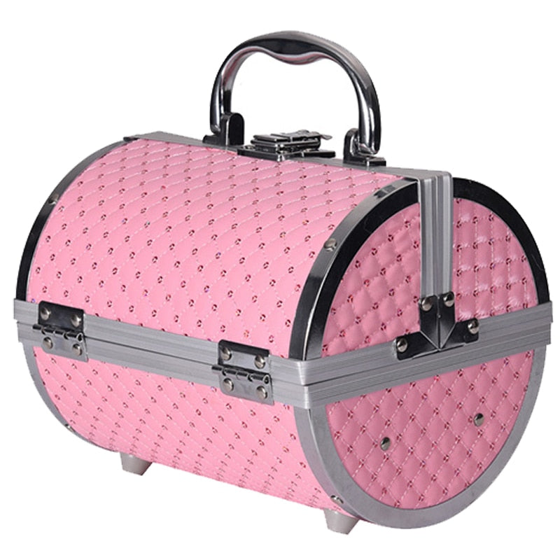 Pillow design Aluminium Makeup Case