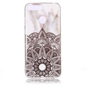 Huawei Honor 7A Pro Marble Case for Coque Huawei Y6 Prime Y6 Prime 2018 / 22