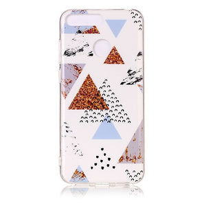 Huawei Honor 7A Pro Marble Case for Coque Huawei Y6 Prime Y6 Prime 2018 / 34