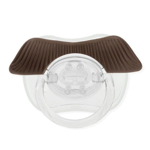 Funny Baby Pacifier B04 Tycoon-brown