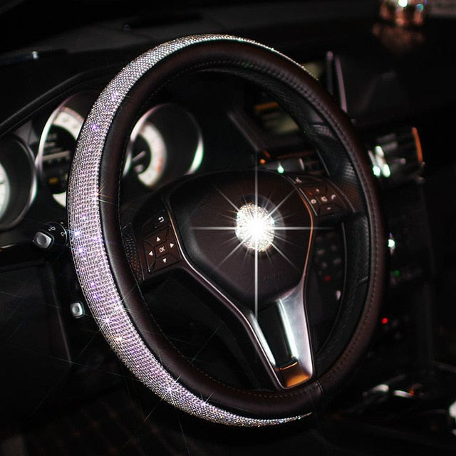 SWAROVSKI CRYSTAL STEERING WHEEL COVER Default Title