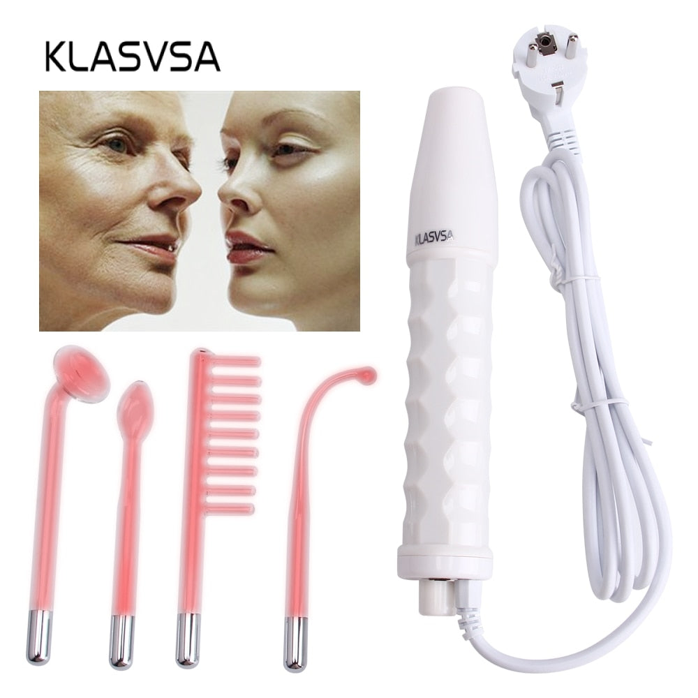 4-in-1 Skin High Frequency Microcurrent Wand