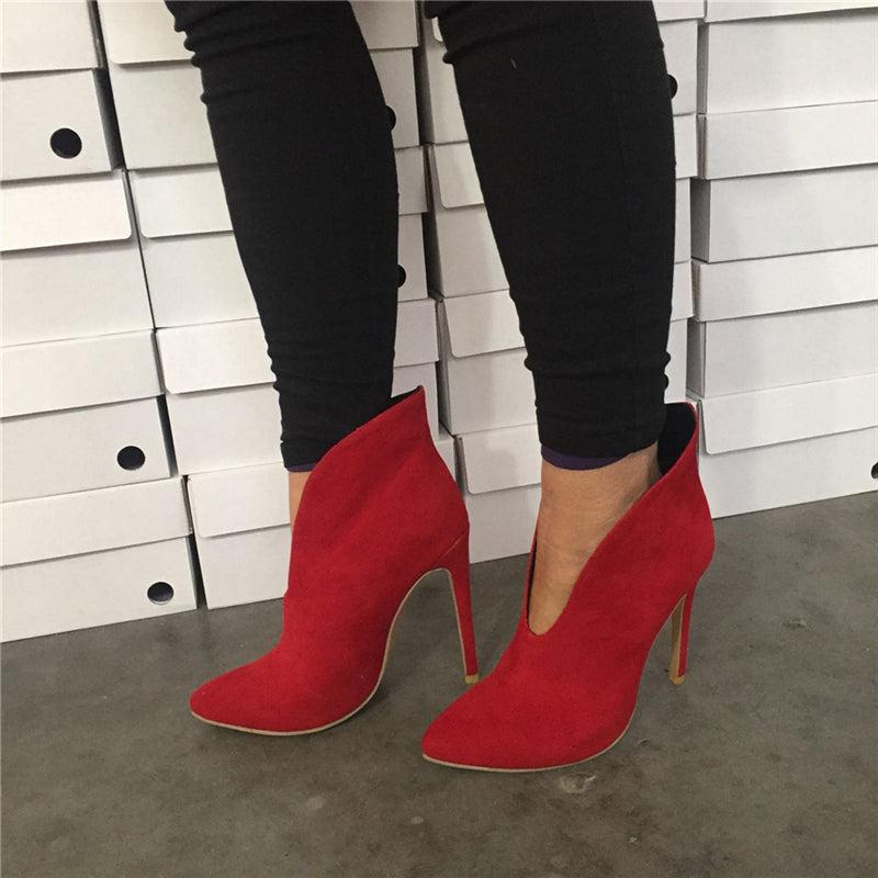 Sexy Women High Thin Heel Shoes