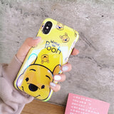 Cute Pig Bear Cartoon Case For Samsung Galaxy S10 S9 S8 For iPhone 6 6S / BearCase