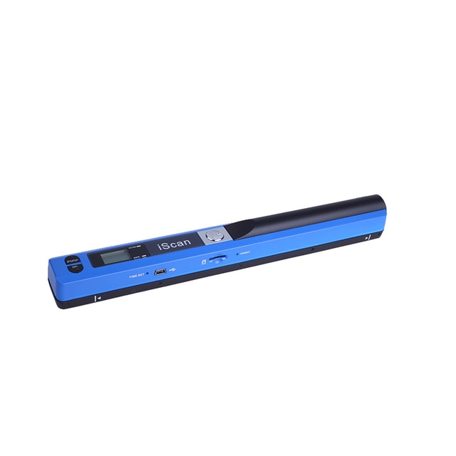 MINI PORTABLE DIGITAL SCANNER blue