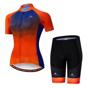 Ladies Cycling Clothing Sets Red / XXL