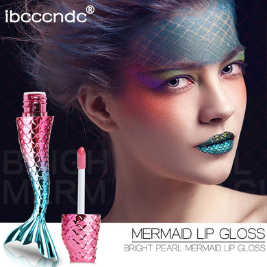 Liquid Crystal Glow Mermaid Lip Gloss
