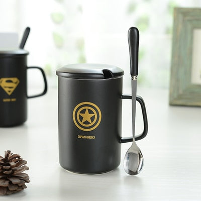 Super Hero Theme Coffee Cup A / 400ml