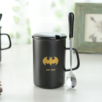 Super Hero Theme Coffee Cup D / 400ml