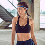 Yoga sports padded bra black / S