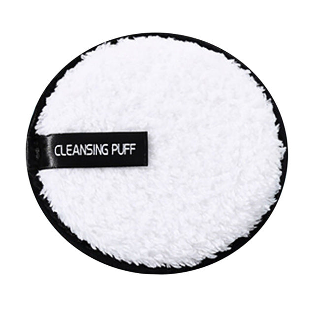 Microfiber Suede Cleansing Cotton(3pcs) White