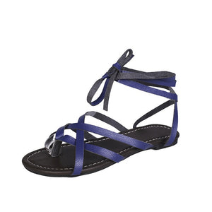 Casual comfortable gladiator sandals Blue / 5