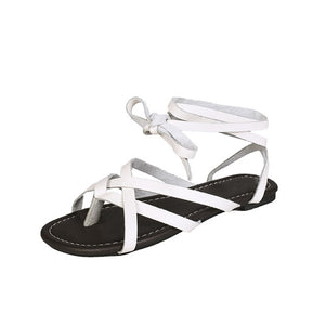 Casual comfortable gladiator sandals White / 5